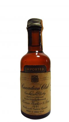 Canadian Club - Canidian Miniature (old Bottling) Whisky