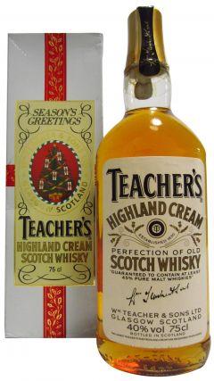 Teacher's - Season's Greetings Highland Cream Whisky