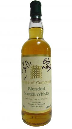 Blended Malt - House of Commons Signed by Ed Balls & Ed Milliband Whisky