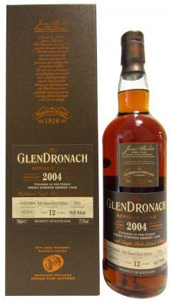 GlenDronach - Single Cask #5521 (Batch 13) - 2004 12 year old Whisky