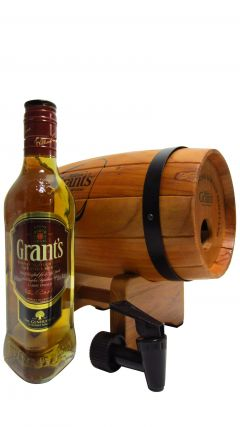 William Grant's - Family Reserve 35cl & Wooden Barrel Dispenser Whisky