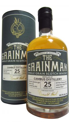 Cambus (silent) - The Grainman Single Grain Cask #103 - 1990 25 year old Whisky