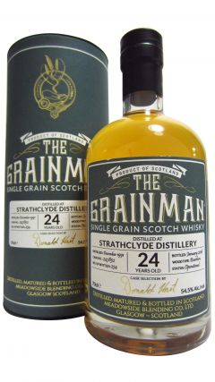 Strathclyde - The Grainman Single Cask #247852 - 1991 24 year old Whisky