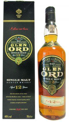 Glen Ord - Northern Highland Single Malt 12 year old Whisky