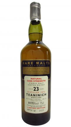Teaninich - Rare Malts (unboxed) - 1972 23 year old Whisky