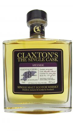 Glentauchers - Claxton's Single Cask - 1996 18 year old Whisky
