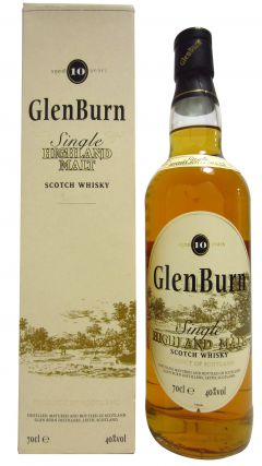 Glenburn - Single Highland Malt 10 year old Whisky