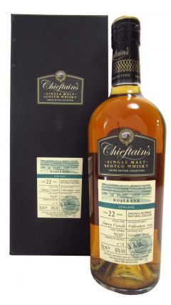 Rosebank (silent) - Chieftain's Single Cask #93361 - 1990 22 year old Whisky
