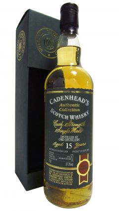 Glen Ord - Cadenhead's Authentic Collection - 1996 15 year old Whisky