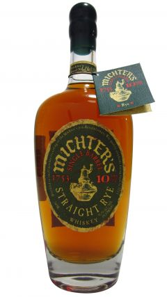Michter's - Single Barrel Straight Rye 10 year old Whiskey