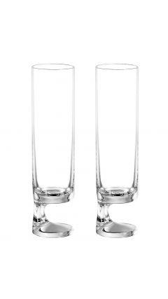 Smoke Joe Colombo Bicchiere Champagne Flute (Twin Pack)