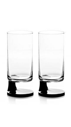 Smoke Joe Colombo Bicchiere Bibta Highball (Black) (Twin Pack)