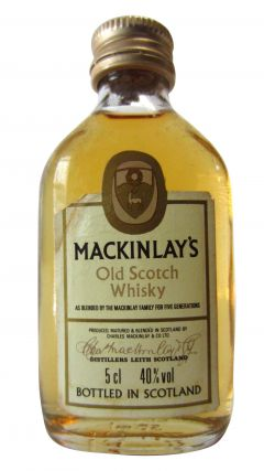 Mackinlay's - Old Scotch Miniature Whisky