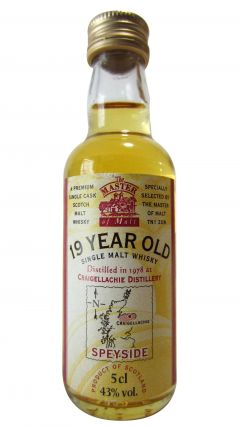 Craigellachie - Single Malt Miniature - 1978 19 year old Whisky