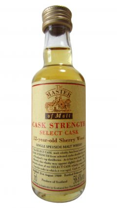 Speyside - Cask Strength Miniature - 1980 12 year old Whisky
