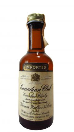 Canadian Club - Canadian Miniature (Old Bottling) Whisky
