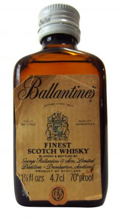 Ballantines - Finest Scotch Whisky Miniature Whisky