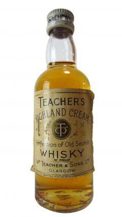 Teacher's - Highland Cream Miniature Whisky