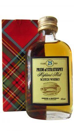 Speyside - Pride of Strathspey Miniature 25 year old Whisky