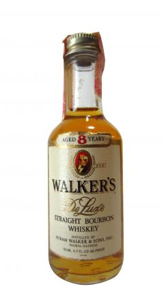 Other Bourbons - Walker's De Luxe Miniature Whiskey