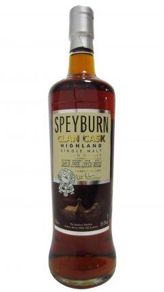 Speyburn - Clan Cask Single Cask #3413 - 1975 37 year old Whisky