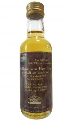 Macduff - Millennium Bottling Miniature - 1978 20 year old Whisky