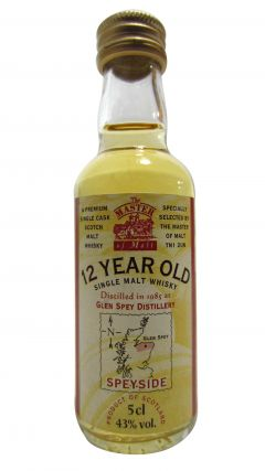 Glen Spey - Single Malt Miniature - 1985 12 year old Whisky