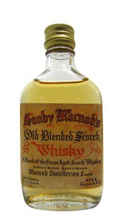 Lochside (silent) - Sandy Macnab's Old Blended Miniature Whisky