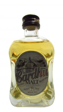 Cardhu - Finest Highland Malt Minature 12 year old Whisky