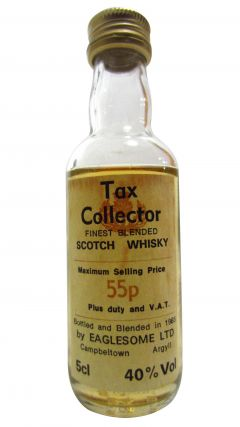Blended Malt - Tax Collector Miniature Whisky