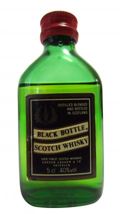 Blended Malt - Black Bottle Scotch Miniature Whisky