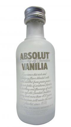 Vodka - Absolut Vanilla Miniature Whisky