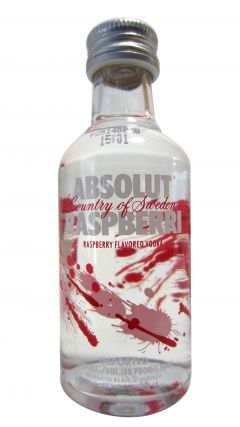 Vodka - Absolut Raspberry Minature Whisky
