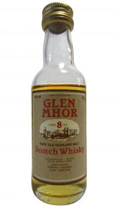 Glen Mhor (silent) - Rare Old Highland Malt Miniature Whisky