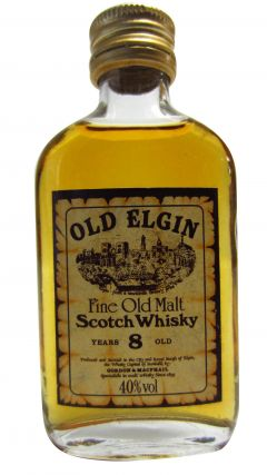 Glen Elgin - Fine Old Malt Miniature 8 year old Whisky