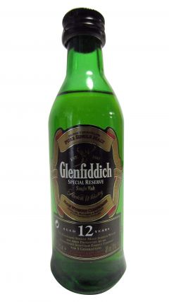 Glenfiddich - Special Reserve Miniature 12 year old Whisky