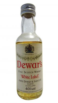Dewar's - White Label Miniature Whisky