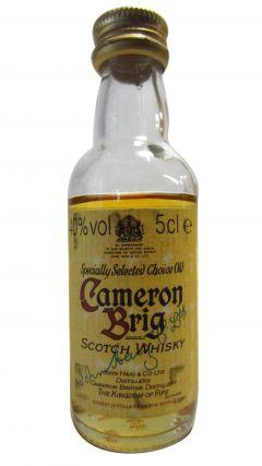 Cameronbridge - Cameron Brig Scotch Miniature Whisky