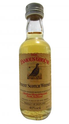 Famous Grouse - Finest Scotch Miniature Whisky