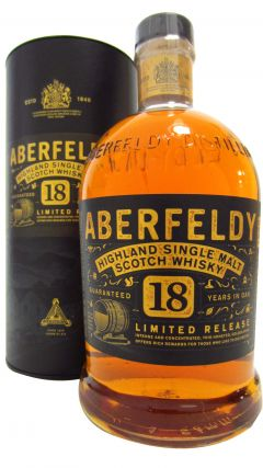 Aberfeldy - Highland Single Malt (1 Litre) 18 year old Whisky