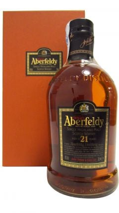 Aberfeldy - Single Highland Malt (old bottling) 21 year old Whisky