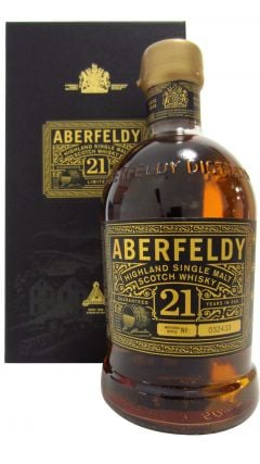 Aberfeldy - Highland Single Malt 21 year old Whisky
