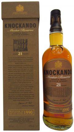 Knockando - Master Reserve Single Malt (old bottling) - 1990 21 year old Whisky