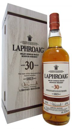Laphroaig - Single Islay Malt - 1985 30 year old Whisky
