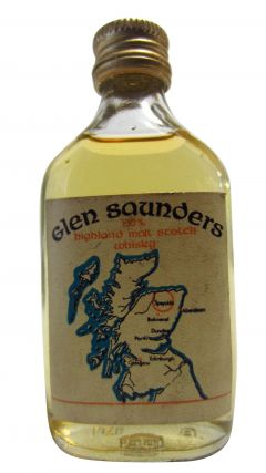 Blended Malt - Glen Saunders Highland Malt Miniature Whisky