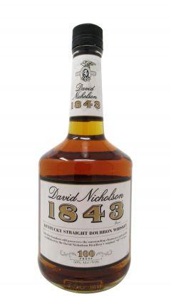 David Nicholson - 1843 Kentucky Straight 7 year old Whiskey