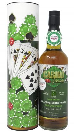 Tobermory - Casino Series - Rum Cask # Poker - 1995 21 year old Whisky
