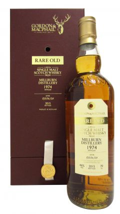 Millburn (silent) - Rare Old - 1974 40 year old Whisky