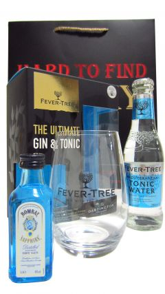 Gin - Bombay Sapphire & Fever Tree Tonic Gift Set (Hard To Find Whisky Edition) Whisky