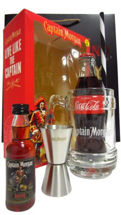Captain Morgan - Gift Set (Hard To Find Whisky Edition) Rum